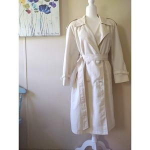 Vintage 1980s London Fog Trench Coat
